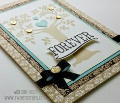 TweetScraps: September Stamp of the Month Blog Hop - Family is Forever