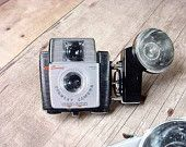 Brooch Brownie Camera Image Vintage Style for the Camera Collector Gift for Photographer Starmite Starlet