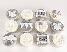 Baby Shower Cupcakes, Baby Shower Parties, Baby Shower Themes, Instagram, Design, Diaper Parties, Cupcake Baby Showers