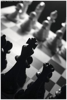 """""""There ought to be some men moving about somewhere and so there are!"""" she added in a tone of delight, and her heart began to beat quick with excitement as she went on. """"It's a great huge game of chess that's being played all over the world, if this is the world at all, you know. Oh, what fun it is! How I wish I was one of them! I wouldn't mind being a Pawn, if only I might join, though of course I should like to be a Queen, best."""" ~ #Alice in Wonderland"""