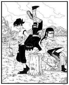 Naruto Legacy in the works (fan manga); here's a taste of the art :) Comic Naruto, Naruto Art, Anime Naruto, Rock Lee, Naruto Shippuden Sasuke, Boruto, Martial Arts Manga, Manga Art, Manga Anime