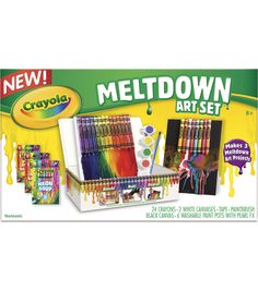 Crayola Crayon Mini Meltdown Gift SetCrayola Crayon Mini Meltdown Gift Set,
