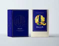 "Check out new work on my @Behance portfolio: ""Queen B. brand concept."" http://be.net/gallery/55277285/Queen-B-brand-concept"