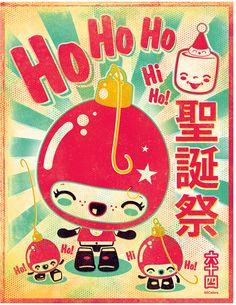 Ho Ho Ho Print