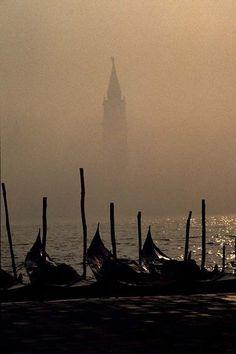 Heavy Fog, Venice.