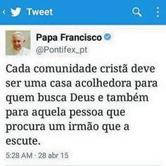 Folha certa : Papa Francisco: mensagem