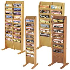 Floor Displays - Oak Magazine Floor Displays - for tax forms and free publications
