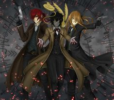 Guardians of the 14th by Equalibriem on DeviantArt - D. Gray-Man: Cross, Neah, and past Allen