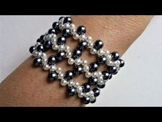 2 colors pearl beads jewelry set. Make your own jewelry for any special occasion - YouTube