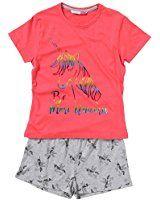 Girls Sleep No Prob-Llama Girls Short Pyjamas Pink Pj 9-16 Years