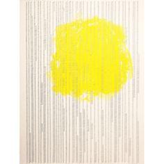 """""""Proceso IV"""", 2013, Serie: Procesos Acrílico y grapas sobre papel de algodón, 57 x 76 cm."""