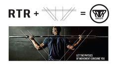 RTR CrossFit branding on Behance