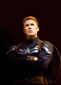 Captain Ameria, Steve Rogers, Chris Evans.