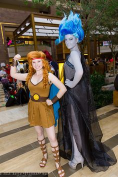 Gender-Swapped Hercules and Hades