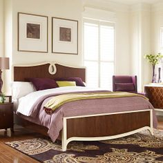 Panel Bed from Bassett! Pinned by #conceptcandieinteriros  #furniture #bed