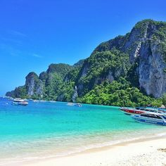 This is something I would highly recommend. A day trip to Phi Phi island, including many stops on the way to famous islands - Maya Bay (where The Beach was shot), Monkey Bay and Phi Phi in itself, which is beautiful. And this is by Speadboat. There are tours that run as well from Krabi to these destinations. We took one of them but realised it was too rushed, too packed with other tourists and very hurried. Plus the lunch provided was inedible! We realised, it costs about 500Baht more but…