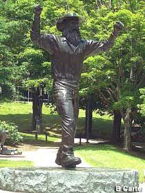 """""""Yosef"""" - Appalachian State University mascot - Boone, NC - near Asheville"""