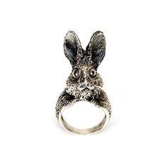 Silver Lapin Ring