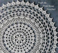 Toalhinha+de+Croche+Redonda+Crochet+Shell+Doily.png (575×535)