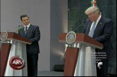 """Peña Nieto Comete Un """"Gran Error"""" Al Recibir A Donald Trump, Lo Cual Ha Generado Protestas En Mexico"""