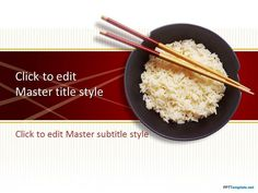 Free Rice PPT Template