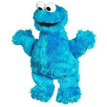 $4.99 Sesame Street 9 Inch Cookie Monster Plush for 12 Month Plus. 9 long very soft and furry Cookie Monster age 12 months and up.