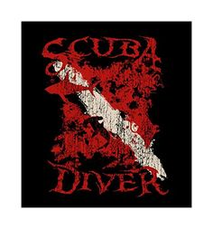 Amphibious Outfitters Dive Flag Scuba Diver T-shirt with Hidden Animals (2XL). Large Image Printed on Back A/O Logo on Front.