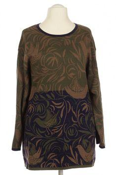 Damen Gudrun Sjoeden Pullover grün L       #463a1f3