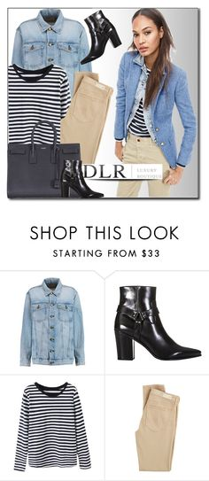 """""""DLRBOUTIQUE.com"""" by monmondefou ❤ liked on Polyvore featuring Current/Elliott, Yves Saint Laurent, AG Adriano Goldschmied, women's clothing, women's fashion, women, female, woman, misses and juniors"""