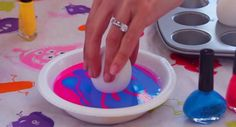 She Dropped Eggs Into Nail Polish � The Results? Amazing!