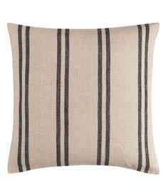 Pinstripe cushion