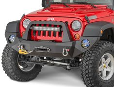 """The RSE - Rock Slide Engineering Front bumper is built with 3/16"""" alloy steel or aluminum construction and 1/4"""" mounting plates."""