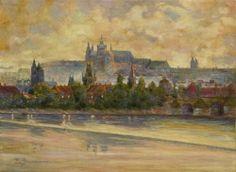 ZDENKA BRAUNEROVÁ (1858-1934, Praha) Pražský hrad