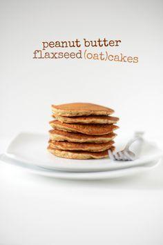 Peanut Butter Flaxseed Oatcakes