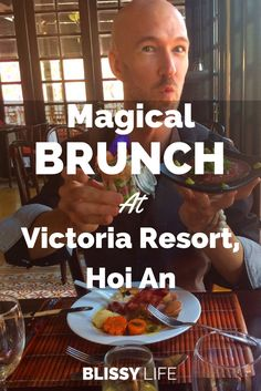 Enjoy a mind-blowing brunch and free flowing bubbly every Sunday at Victoria Resort, Hoi An. We can't wait to go back!  via @blissy_life