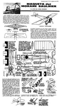 Planitos de Lúpin - Morane Saulnier
