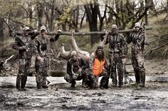 Jason, Luke, and Willie in the Buck Commander Facebook timeline cover. Too much awesome for one picture <3