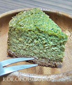ビーガンスイーツ★ほうれん草チーズケーキ  体に良いものだけを使った健康的なケーキです♪動画で公開中>https://youtu.be/xcE_w0Ot_Gs