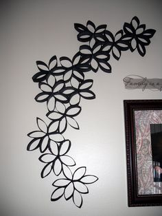 Toilet Paper Roll Wall Art | Cottrell Family: Wall decor with toilet paper???