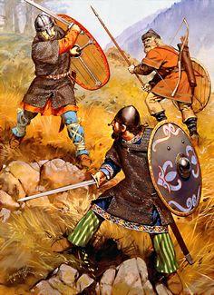 "The Battle of Vänern, 1063""   • Norwegian nobleman  • Swedish infantry archer  • Swedish nobleman"