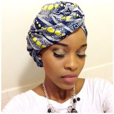 Beautiful collection of the best and most stylish ankara head wrap styles for women. These ankara scarfs are classic and trendy Head Wrap Headband, Head Wrap Scarf, Diy Headband, Head Scarfs, Scarves, Mode Turban, Turban Hijab, Ankara Styles For Men, Pelo Afro