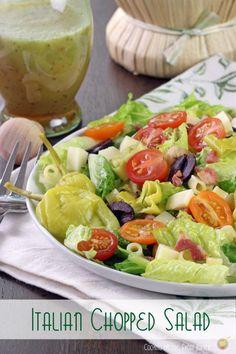 Picados ensalada italiana