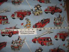 fireman fabric