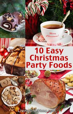 Try these easy party food ideas and recipes, including tips for how to lay out a buffet dinner table so everyone doesn't get piled on top of each other.