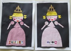 The nice princess, the reconstruction … Grand Prince, Crafts To Do, Crafts For Kids, Arts And Crafts, Chateau Moyen Age, Fairy Tale Crafts, Petite Section, Preschool Curriculum, Cut And Paste