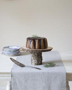 Rosemary Almond Bundt Cake Recipe | Lucky Malone Photography on @limnandlovely via @aislesociety
