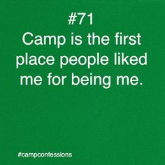 this was definitely true for my case....it was one of the only places where I learned not to be as shy.