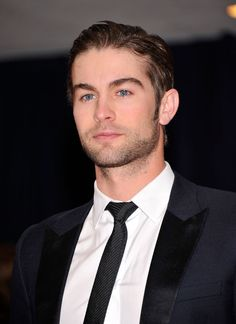 Chace Crawford in white custom dress shirts