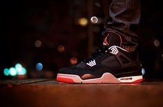 watch 93605 5a4cc Jordan Retro 4 Bred