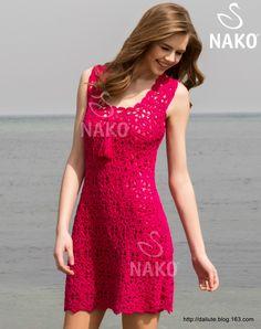 红色礼服Nako - Daliute - Kiss from Lithuania!
